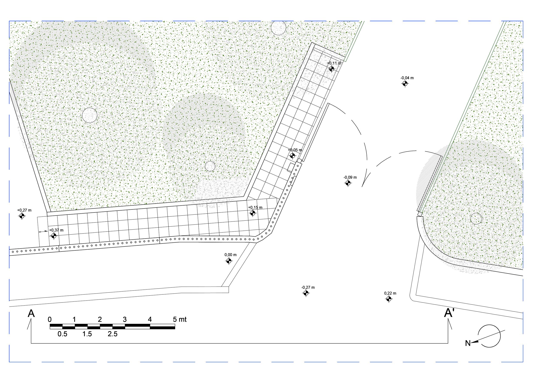 Progetto area esterna arch bruno miletta for Pianta esterna